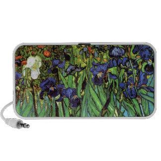 Irises by Van Gogh Fine Art Speakers