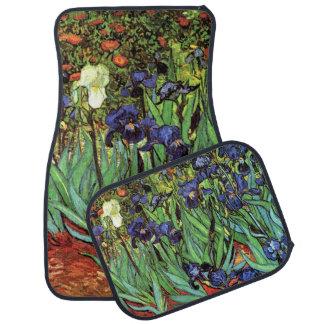 Irises by Van Gogh Fine Art Vintage Car Mats