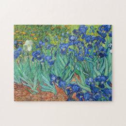 Irises by Van Gogh Jigsaw Puzzle