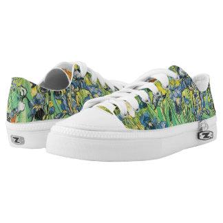 Irises by Van Gogh Printed Shoes