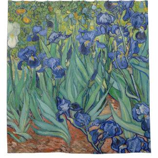 Irises by Van Gogh Shower Curtain