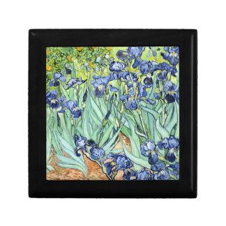 Irises by Van Gogh Small Square Gift Box