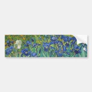 Irises by Vincent Van Gogh 1889 Bumper Sticker