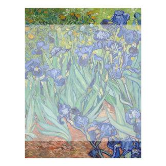 Irises by Vincent Van Gogh 21.5 Cm X 28 Cm Flyer