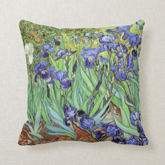 Irises by Vincent van Gogh Cushion