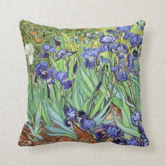 Irises by Vincent van Gogh Cushion