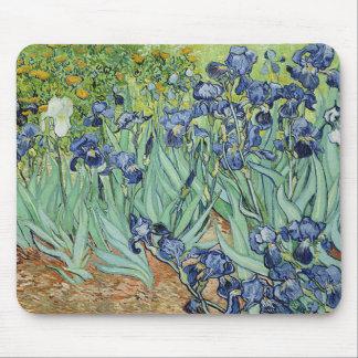 Irises by Vincent van Gogh Mouse Mat