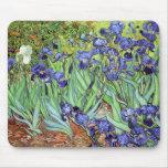 Irises by Vincent van Gogh Mouse Pad