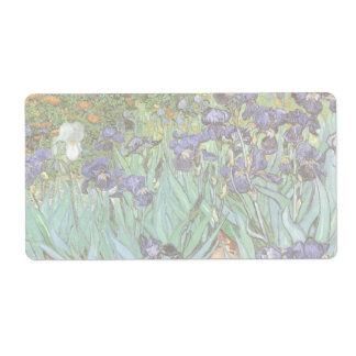 Irises by Vincent van Gogh, Vintage Flowers Art