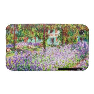 Irises in Monet's Garden Claude Monet iPhone 3 Cases