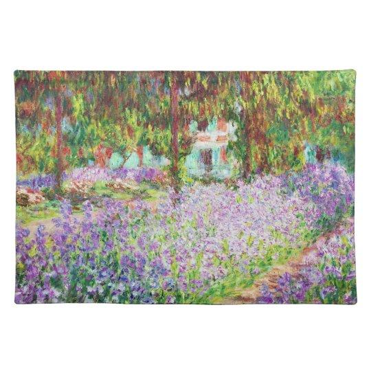 Irises in Monet's Garden Claude Monet Placemat