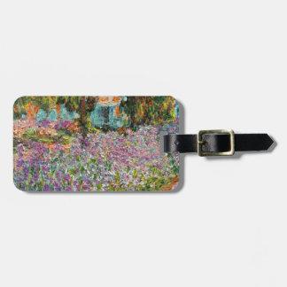 Irises In Monet's Garden Luggage Tag