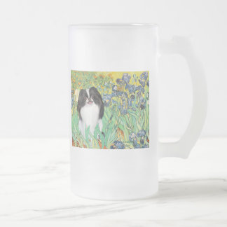 Irises - Japanese Chin 3 Mug