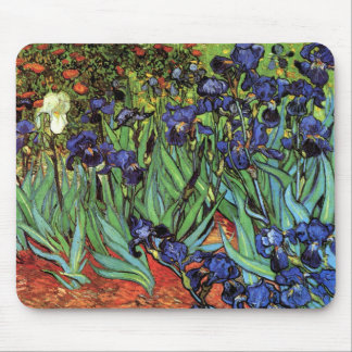 Irises, Saint-Remy, Van Gogh Mouse Pad