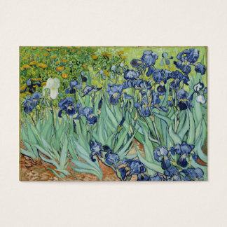 Irises - Van Gogh business cards