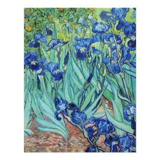 Irises Vincent van Gogh Full Color Flyer