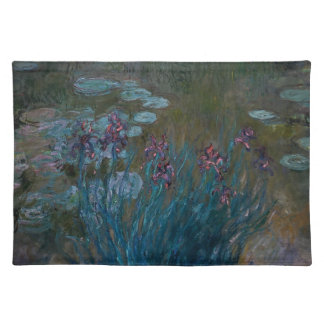 Irises & Water Lilies Placemat