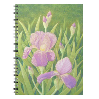 Irises, Wisley Gardens Photo Notebook 80 pages