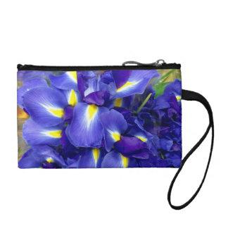 Irises wristlet purse