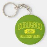 Irish 2009 Drinking Team Keychains