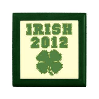 Irish 2012 trinket boxes