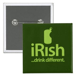 iRish 4 Mac 15 Cm Square Badge