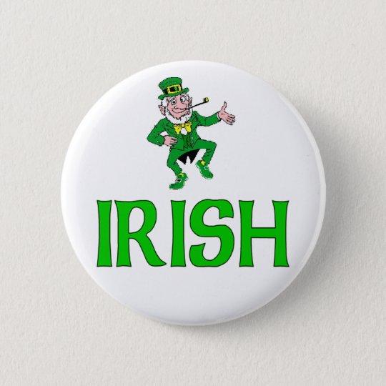 Irish 6 Cm Round Badge