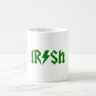 Irish AC/DC Green Coffee Mug