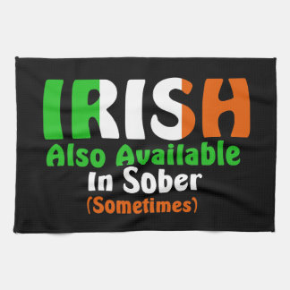 Irish Also Available In Sober Tea Towels