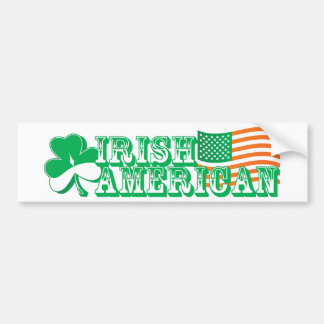 Irish American Bumper Sticker
