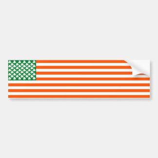 Irish American Bumper Sticker