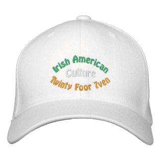 Irish American Culture Embroidered Hat