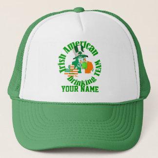 Irish American drinking team, St Patrick's day Trucker Hat