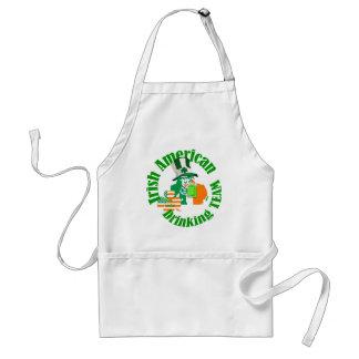 Irish american drinking team standard apron