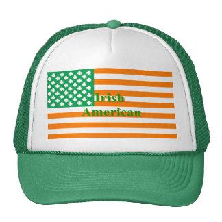 Irish american flag cap