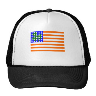 Irish American Flag Hat