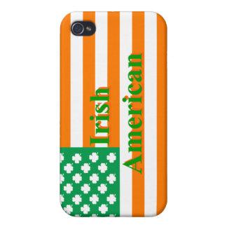 Irish american flag iPhone 4 case