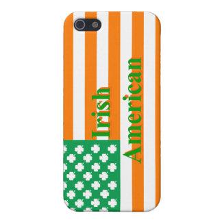 Irish american flag iPhone 5 cover
