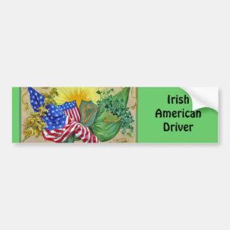 irish american flags bumper stickers