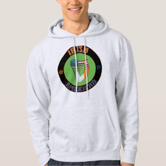 Irish American Harp Hoodies