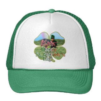 Irish American Leprechaun Mesh Hat