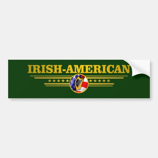 Irish American Pride Bumper Sticker