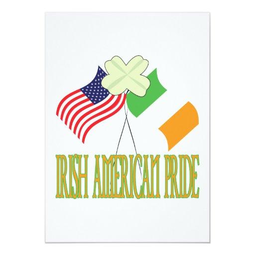 Irish American Pride Custom Invitation