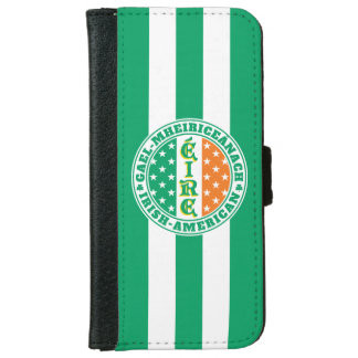 Irish American Pride Éire Flag iPhone 6 Wallet Case