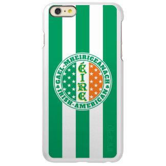Irish American Pride - Éire Flag with Gaelic Text iPhone 6 Plus Case