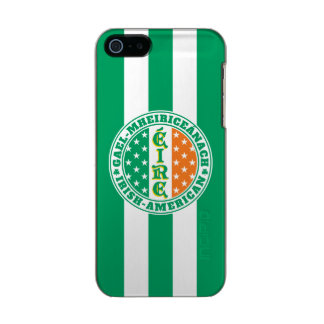 Irish American Pride - Éire Flag with Gaelic Text Incipio Feather® Shine iPhone 5 Case