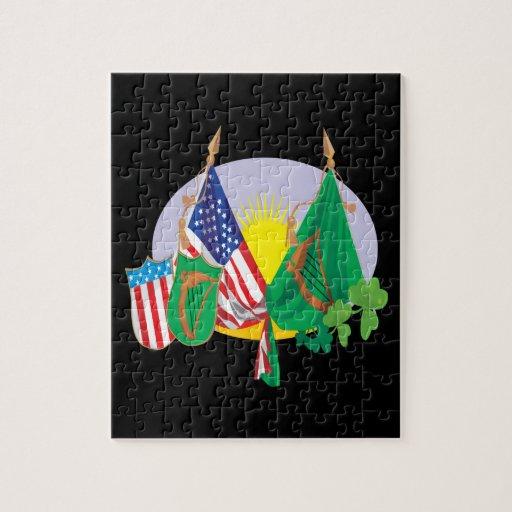 Irish American Pride Jigsaw Puzzle