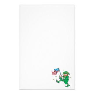 Irish American Pride Personalized Stationery