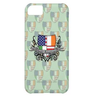 Irish-American Shield Flag iPhone 5C Covers