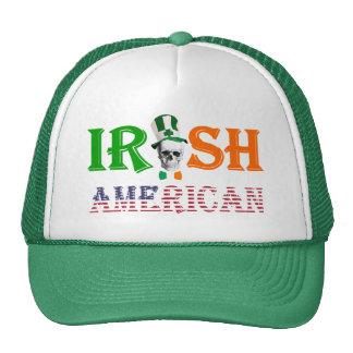 Irish American St Patrick's day Trucker Hats